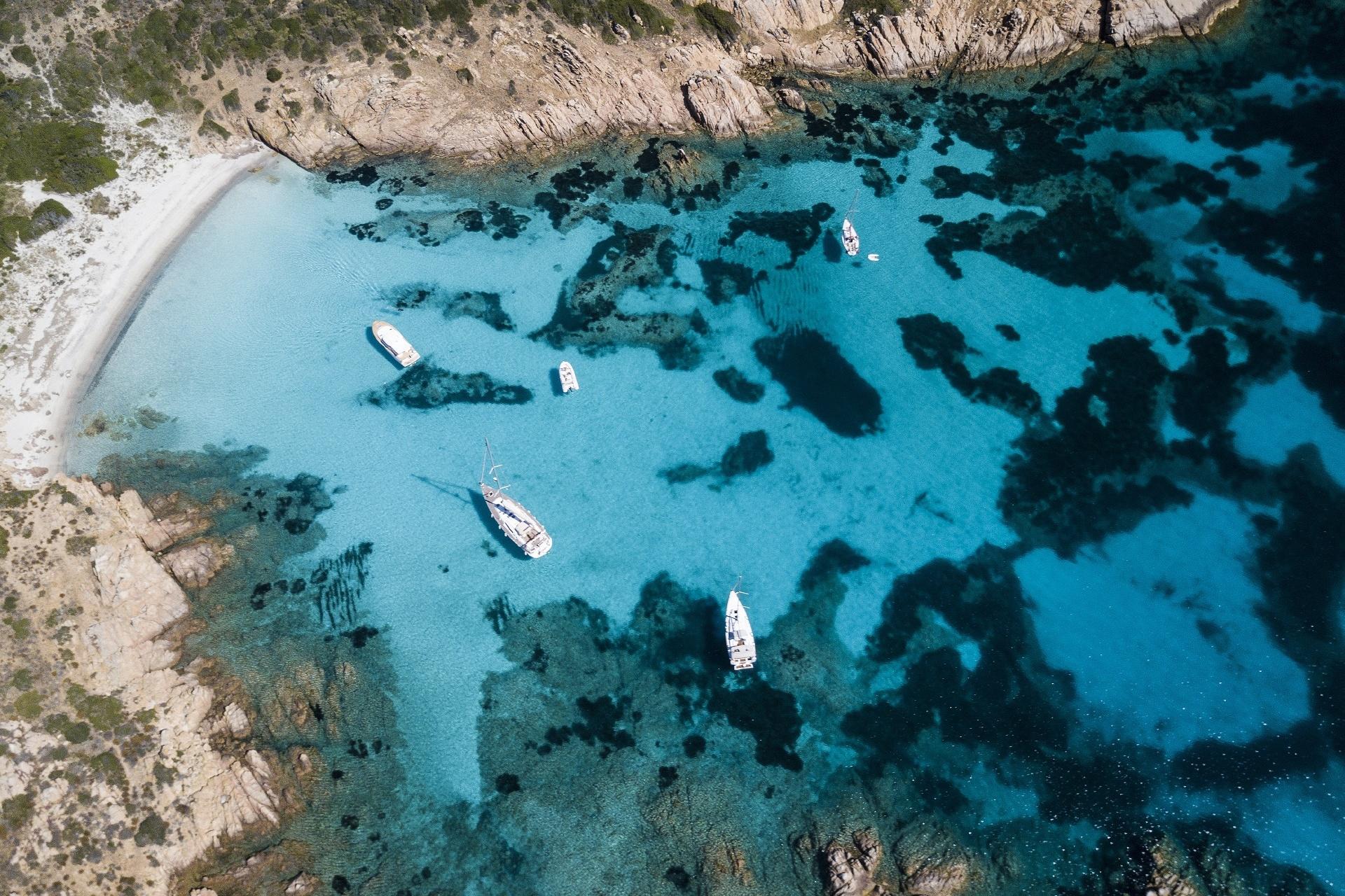 サルデーニャ モルトリオ島の風景 イタリアの風景
