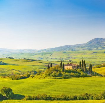 トスカーナ イタリアの美しい風景