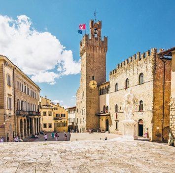 アレッツォの町並み イタリアの風景