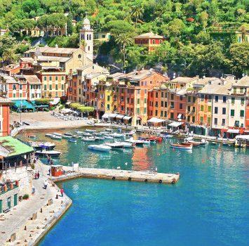 ポルトフィーノの風景 イタリアの風景
