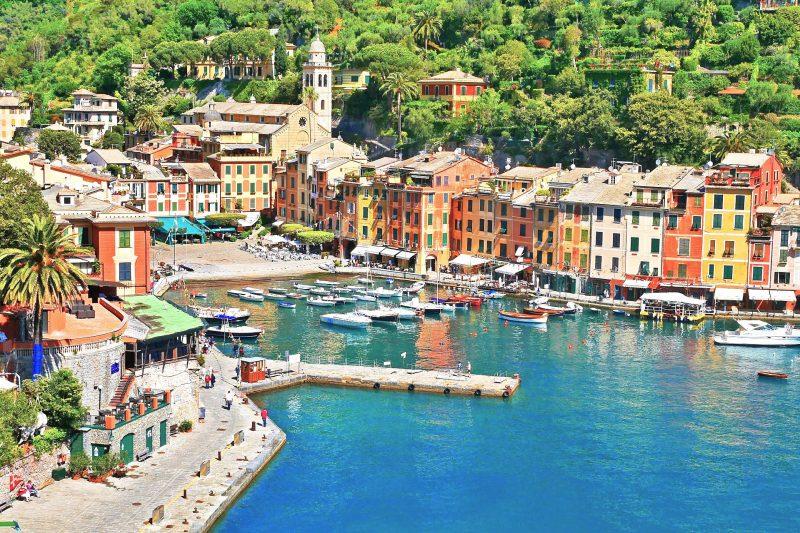 ポルトフィーノの風景