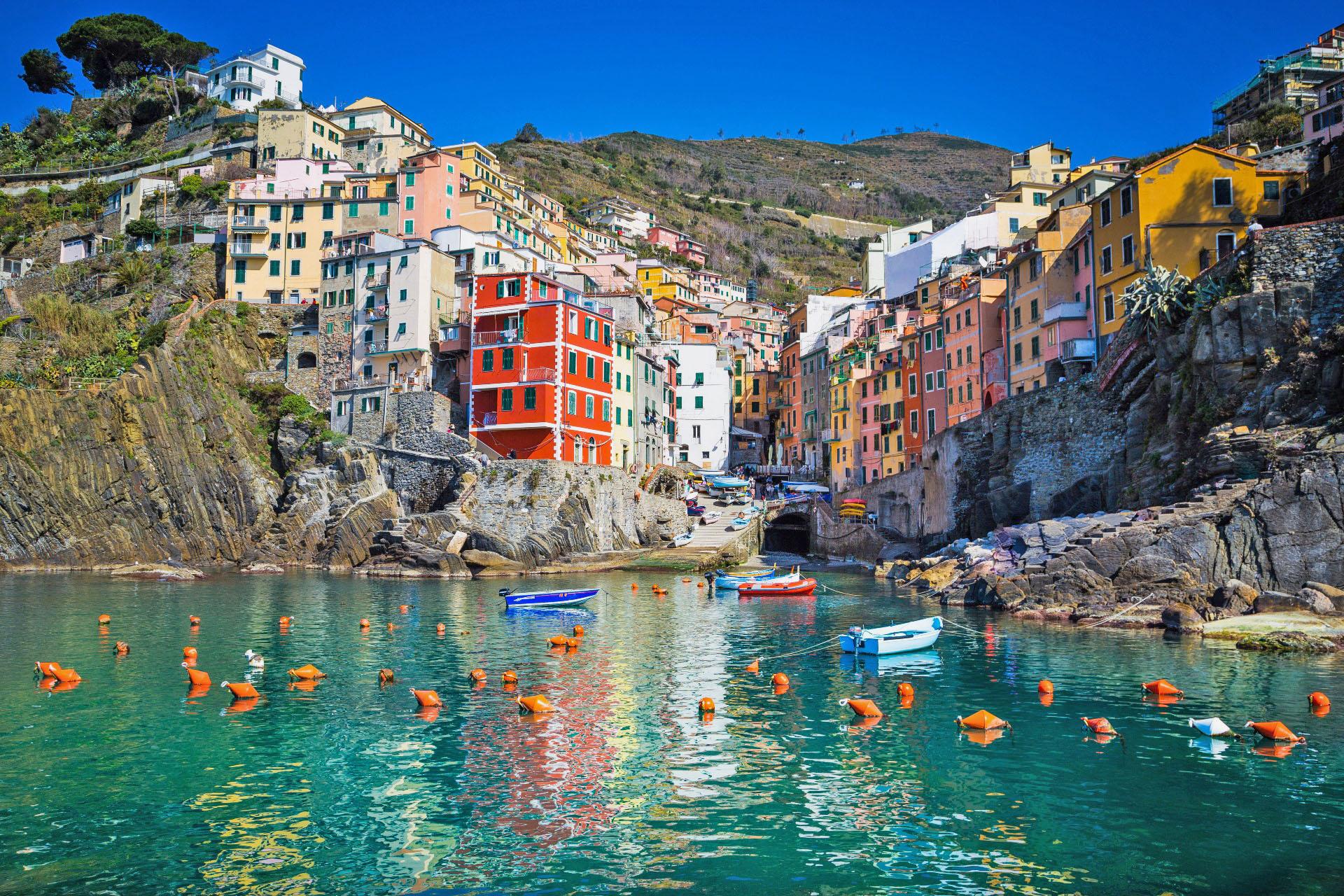 リオマッジョーレの風景 イタリアの風景